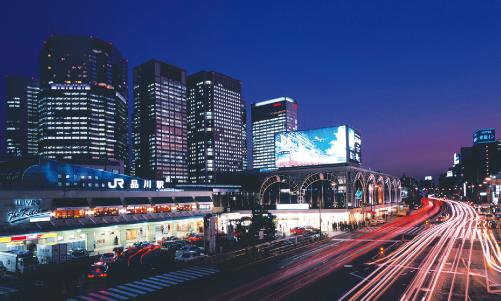 FLTが選ばれる理由の品川駅夜景イメージ